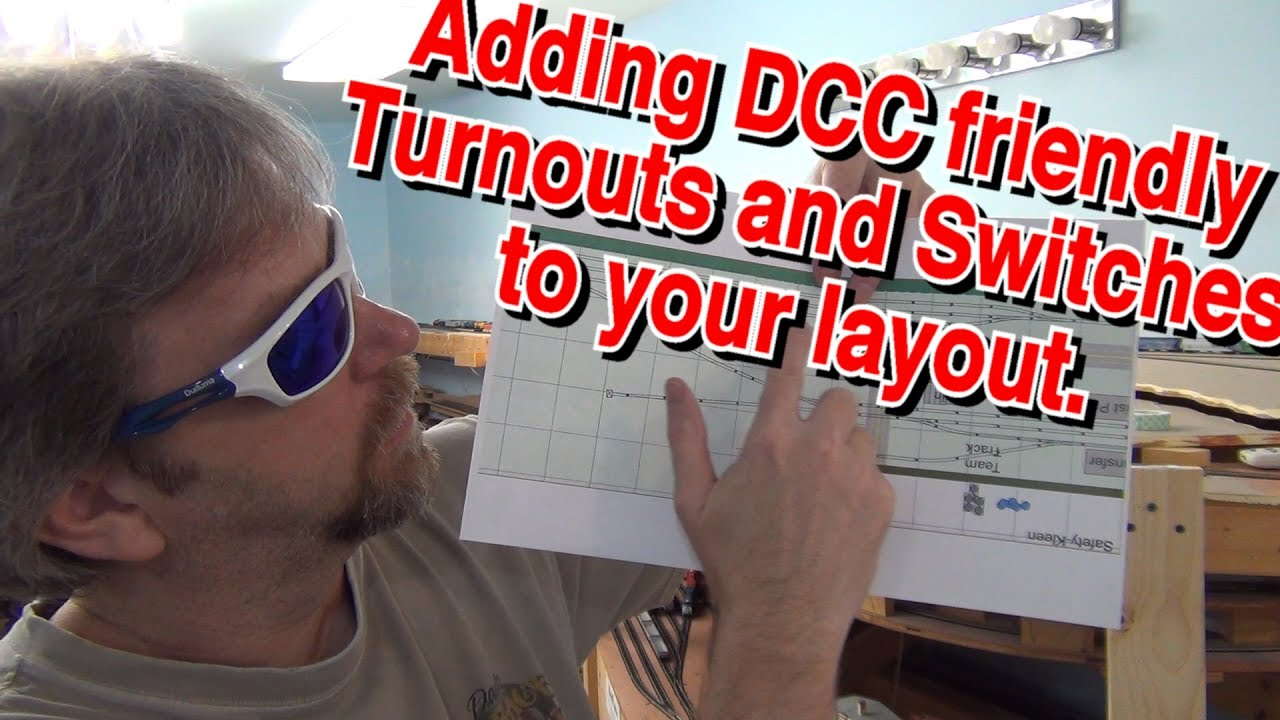 🔴how to install dcc friendly turnouts and switches on you model train  layout - 398