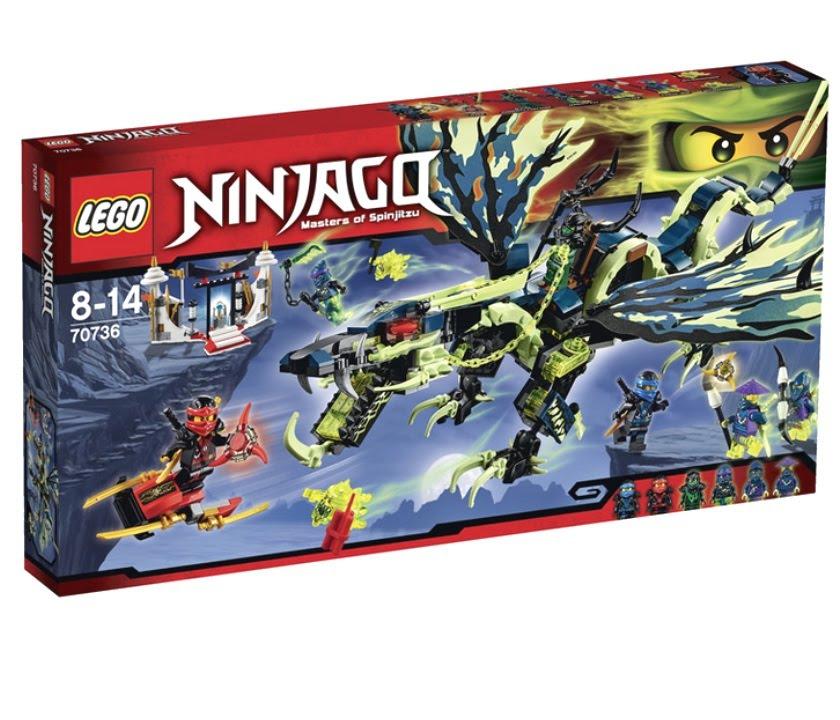 LEGO Ninjago.Дракон Сэнсэя Ву.Игрушки для Детей.Ниндзя го.#Лего .