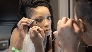 """Smokey Eye Tutorial"" by Keke Palmer"