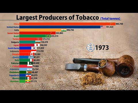 World's Largest Tobacco Producers (1961-2018) | FAOSTAT