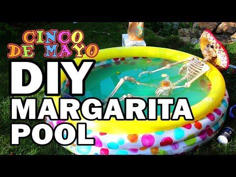 🎉DIY Margarita Pool - Happy Cinco De Mayo!!