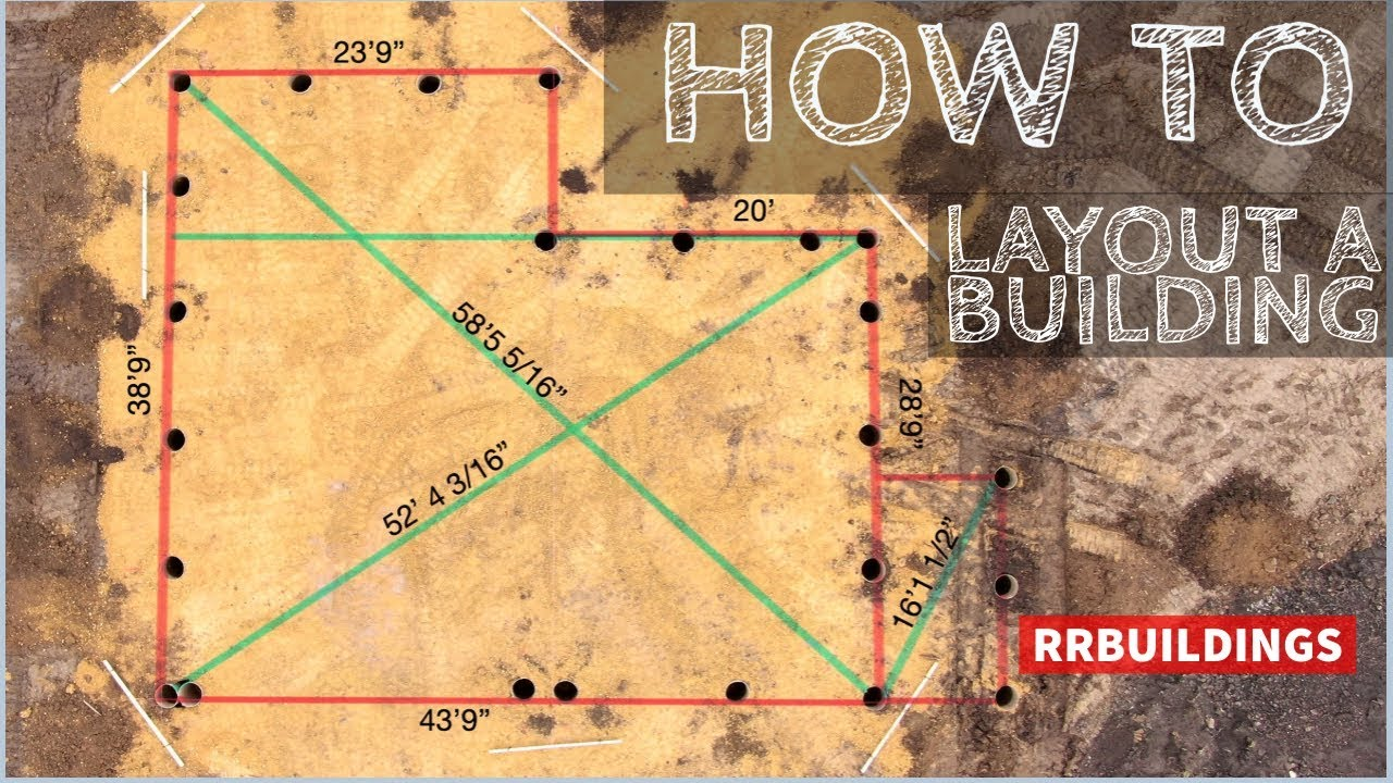 How To Layout A Building The Start Of