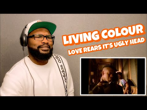 Download LIVING COLOUR - LOVE REARS ITS UGLY HEAD | REACTION