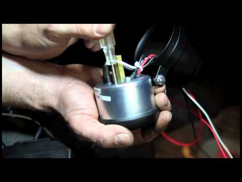 Auto Meter Diesel Tachometers Connected To The Alternator Installation  How-To Install