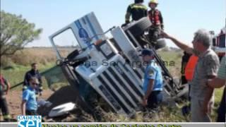 Accidente Camión Cerámica Centro de General Deheza