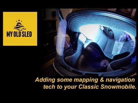 snowmobile heated visor hook up