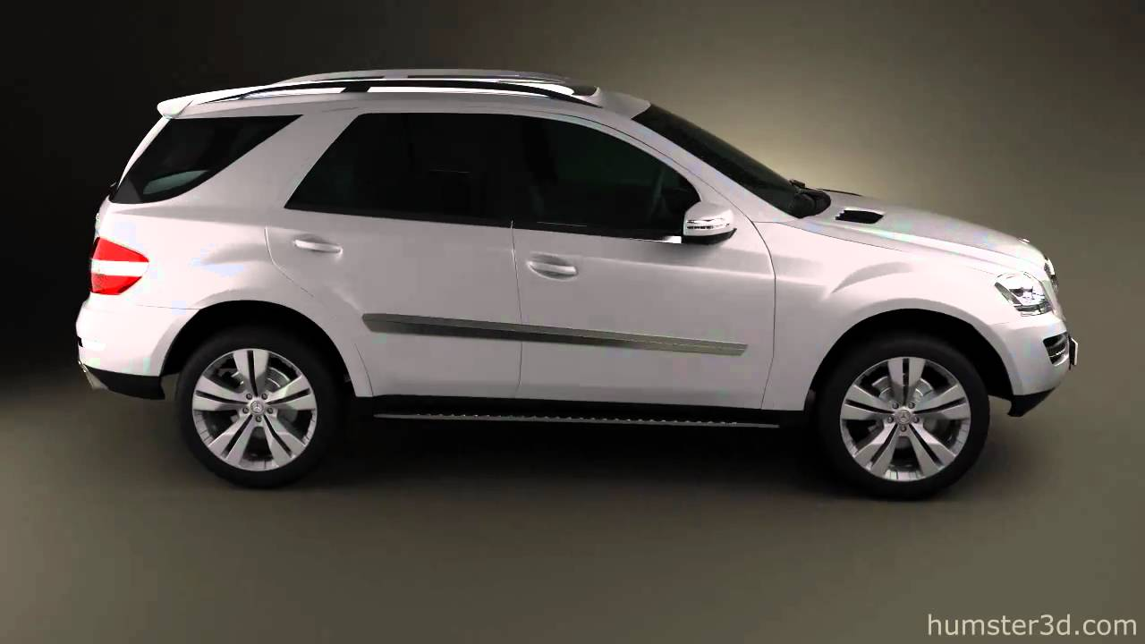 mercedes benz ml class 2011 by 3d model store youtube. Black Bedroom Furniture Sets. Home Design Ideas