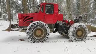 TAF 690 OP-greu pe timp de iarna