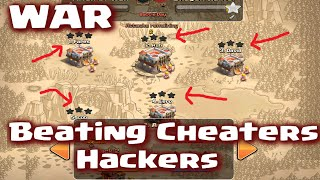 Clash of Clans - Beating Cheaters / Hackers in Clan War