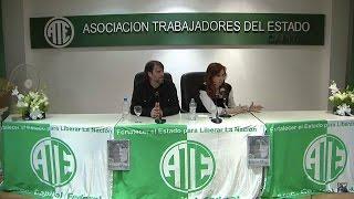 Cristina Kirchner en ATE Capital