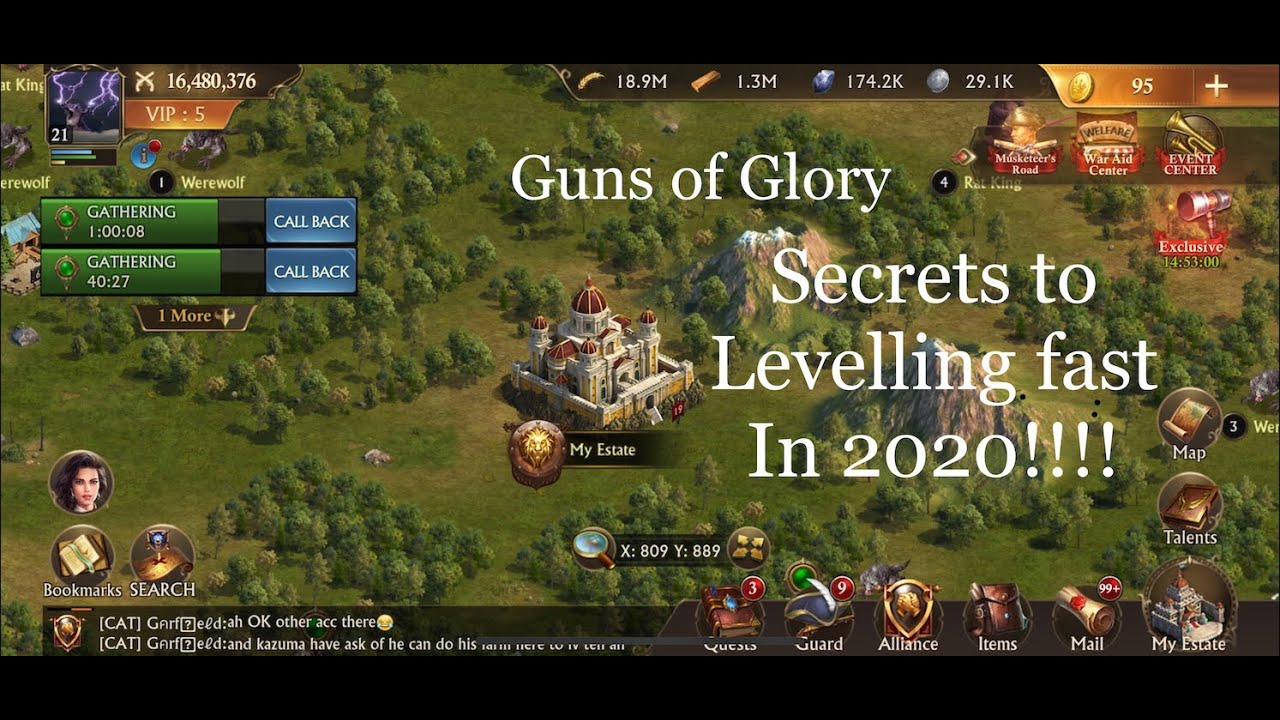 [Part 1] Guns Of Glory How To Level Up & Grow Fast Gameplay LetsPlay Tutorial 2020