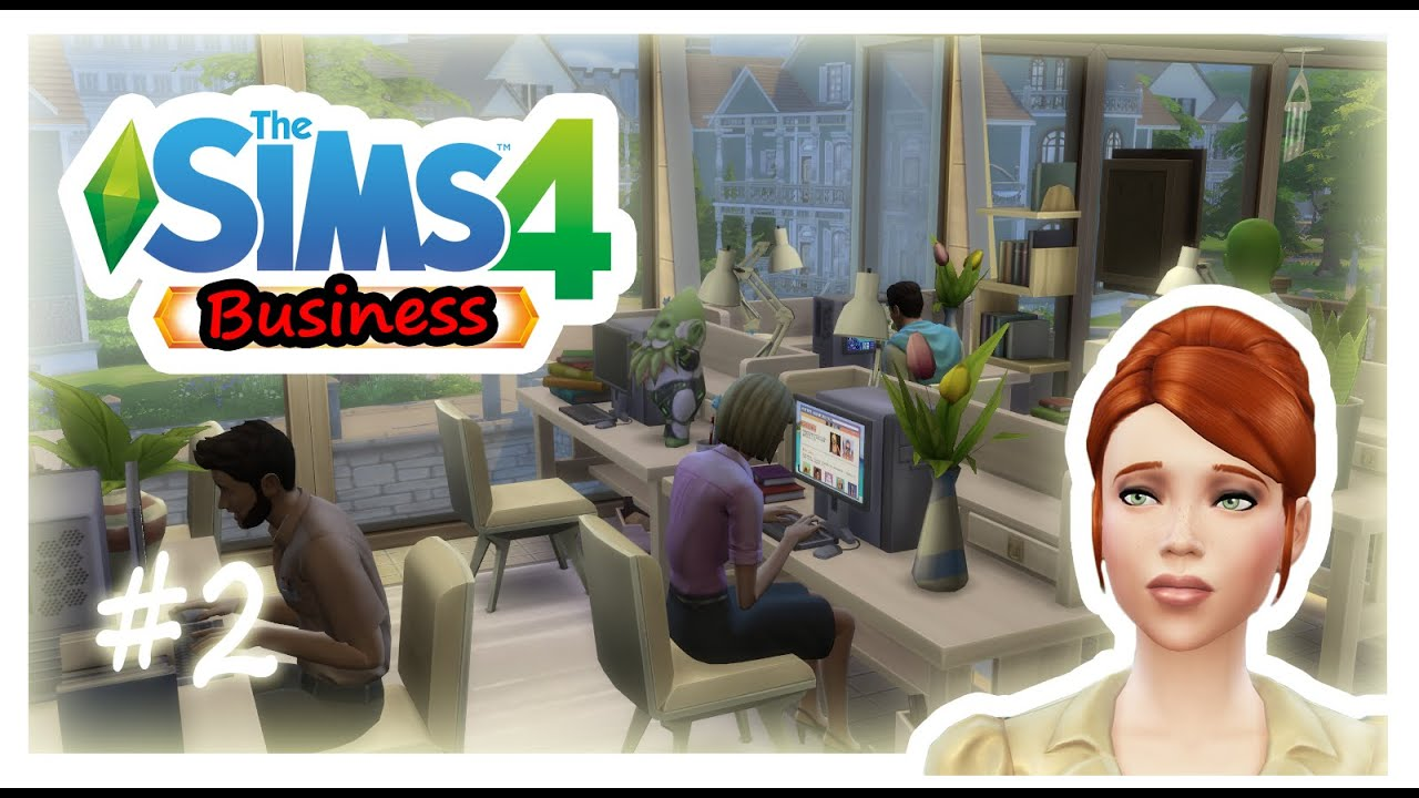 Lets Play The Sims 4 Business Office MOD Part 2 Full Office