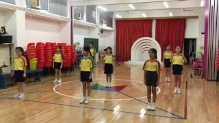 【青小】YMCA總會115周年啦啦隊表演生彩排