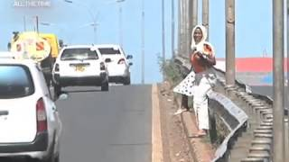 Rogue Pedestrians Openly Flout Traffic Rules In Nairobi