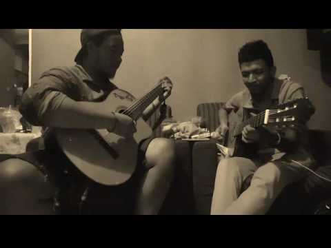 Payung Teduh - Diujung Malam ( cover  by Ryan & Axa )