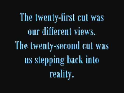 25 Cuts (Cutting Poem) - YouTube