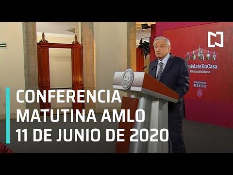Conferencia matutina AMLO/ 11 de junio de 2020