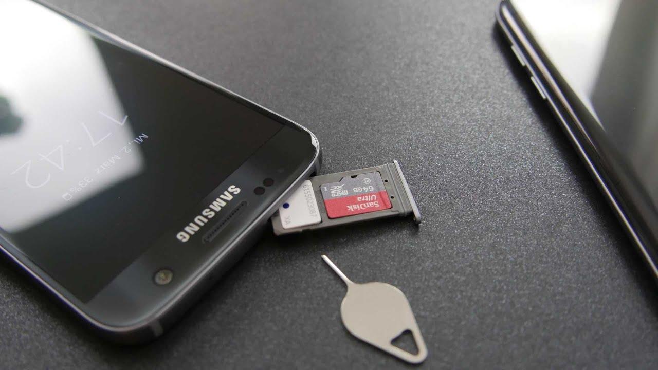 Samsung Galaxy S7 Sim Karte Einsetzen.Samsung Galaxy S7 Galaxy S7 Edge Nanosim Microsd Einlegen