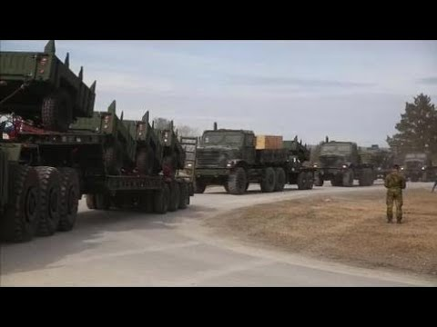 News Weapons Of War -  U.S. Marines Corps Massive Movement in Norway.