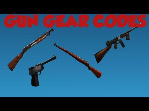 Roblox Gun Gear Codes
