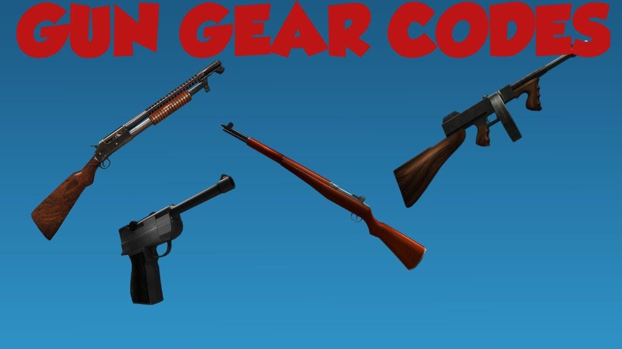 List Roblox Gear Ids Roblox Gun Gear Codes Youtube
