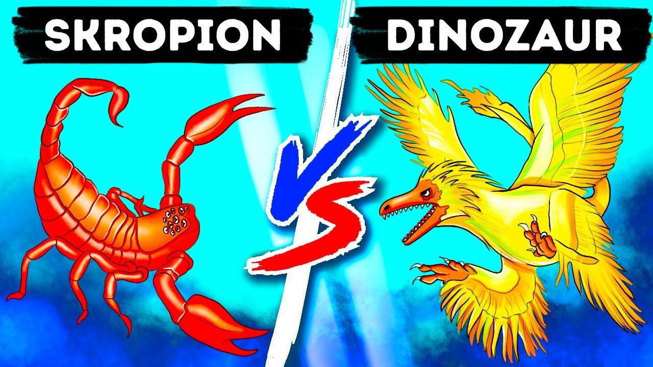 Download Niebywałe starcie skorpiona z dinozaurem wielkości kolibra