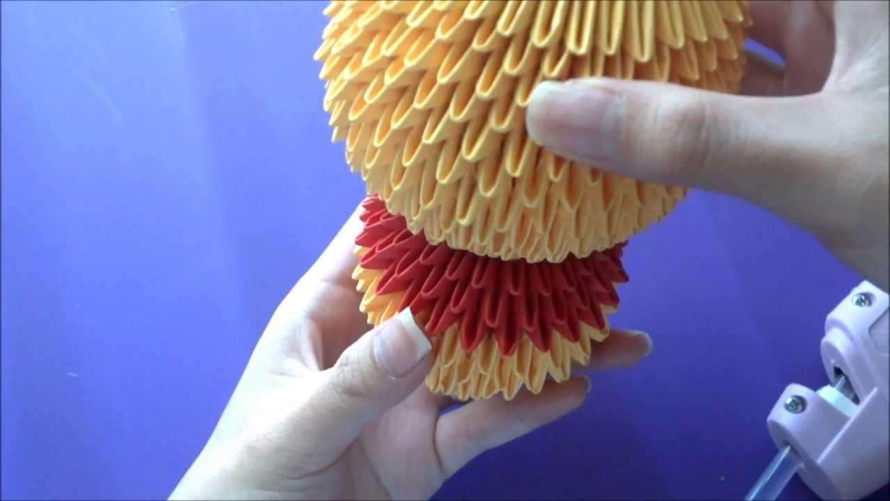 3d Origami Winnie The Pooh Tutorial By Aria Evie Swan Diagram Http Jewellia7777blogspotcom 2013 01