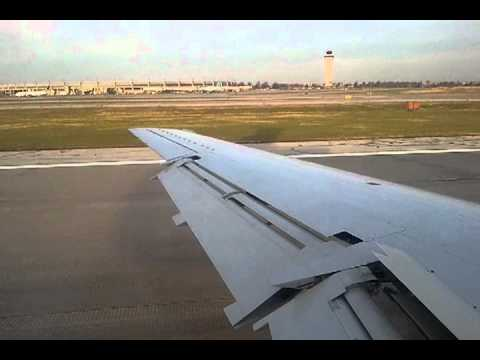 American Airlines Regional Jet landing in Kansas City