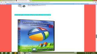 Descargar DriverPackSolution 14 y 13--1 link Descargar 2015 MEGA