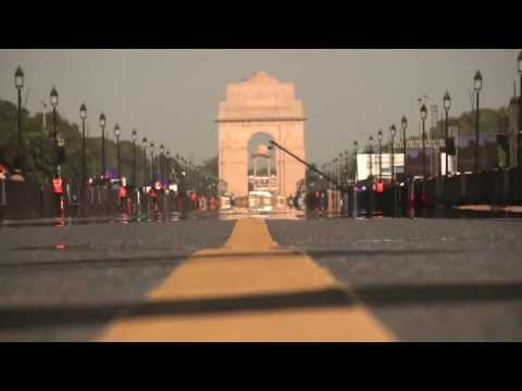 Red Bull F1 Demo in New Delhi - India