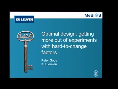Optimal design: getting more out of experiments with hard-to-change factors