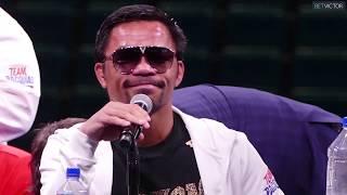 Manny Pacquiao vs  Keith Thurman FULL POST FIGHT PRESS CONFERENCE   Fox PBC Boxing 1