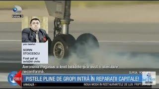 Stirile Kanal D (11.04.2018) - Pistele pline de gropi intra in reparatii capitale! Editie COMPLETA