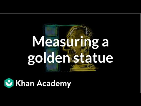Measuring A Golden Statue | Measurement And Data | Early Math | Khan Academy