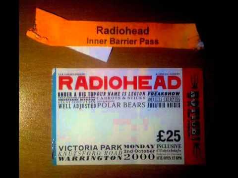 Radiohead - Permanent Daylight (Live from Warrington 02-10-2000)
