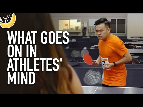 What Goes On In Athletes' Mind