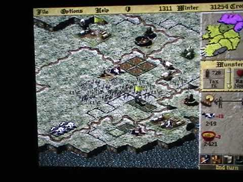 LORDS OF THE REALM 2 IRELAND PART 21 SETTING UP MY ARMY FOR THE END |