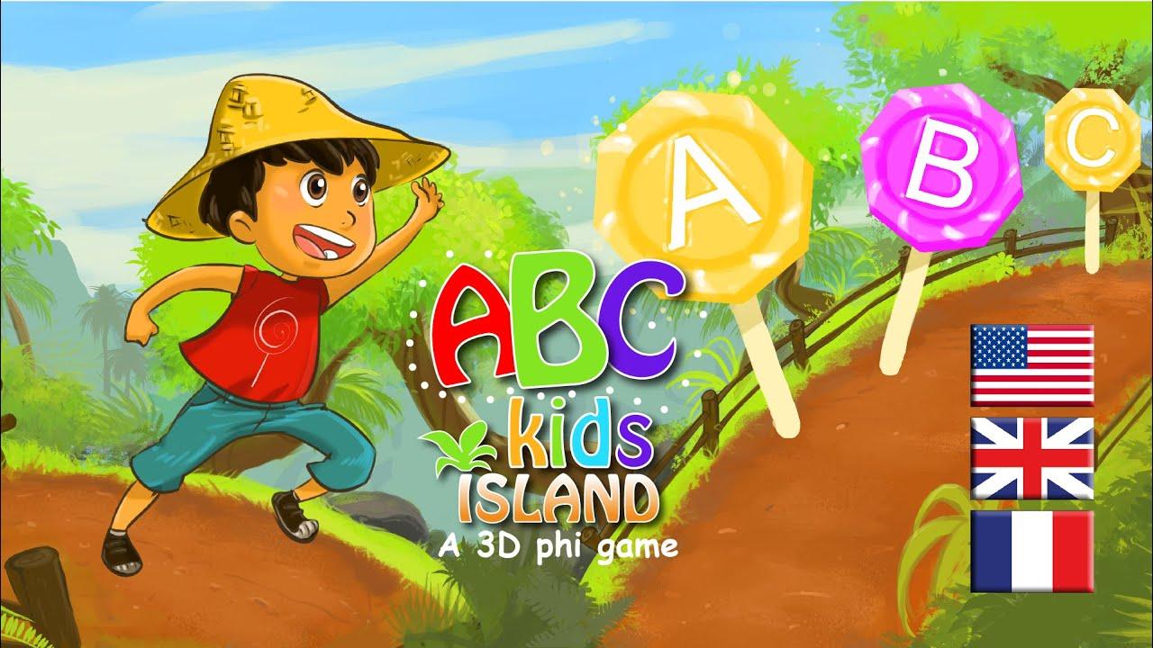 ABC kids island alphabet educational game