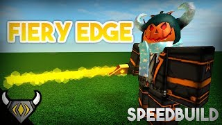 ROBLOX SpeedBuild | Fiery Edge | #3