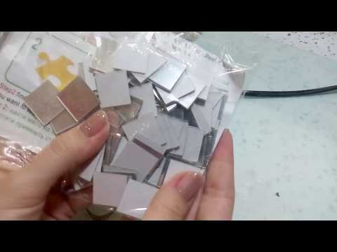 Зеркальные наклейки с Aliexpress/наклейки для декора интерьера/Эксклюзив в  кабинете мастера
