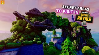 5 Secret Areas in Fortnite Battle royale. DID YOU KNOW?