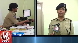 IPS Chandana Deepti Face To Face | Takes Charge As Medak District SP | V6 News