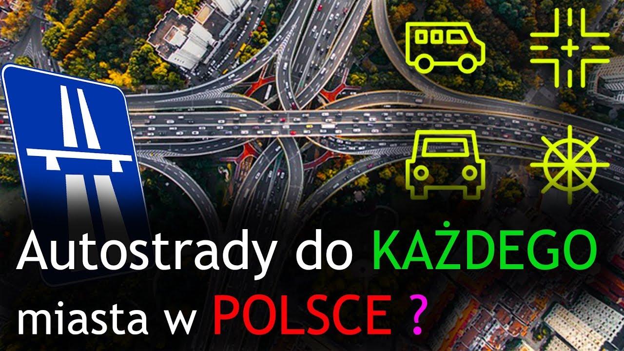 Planowana sieć autostrad i dróg ekspresowych w Polsce | Polska 2030