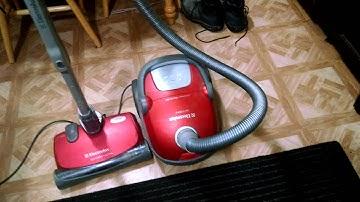New vacuum: Electrolux Oxygen ³ Ultra