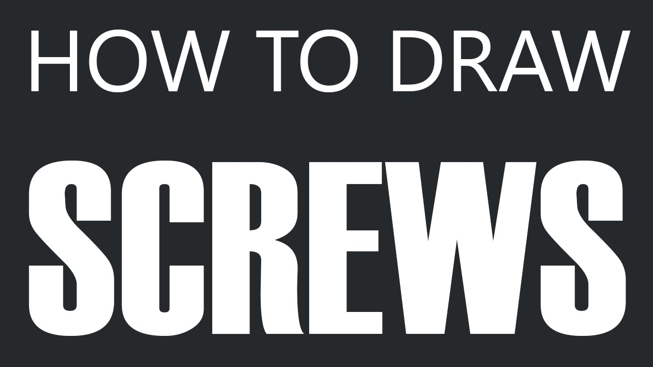 how to get threaded screws out in tv