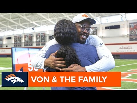 Von Miller's Family Talks About His Years of Caring for the Community | Denver Broncos