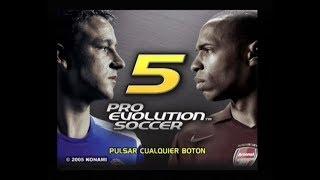 Pro Evolution Soccer 5 : Copa Máster D1 T3 ( Parte 54 )