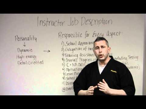 Instructor Job Description