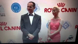 BIS World dog show 2015 Milano