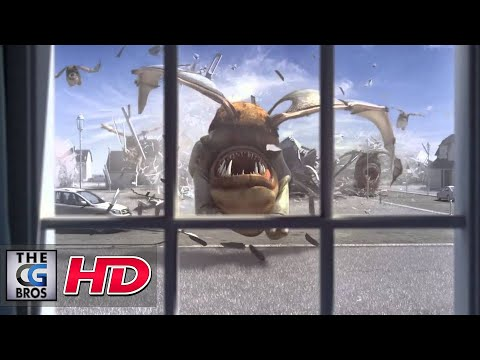 "CGI 3D Animated Spot : ""Flying Monster"" by - Dvein / Blacklist"